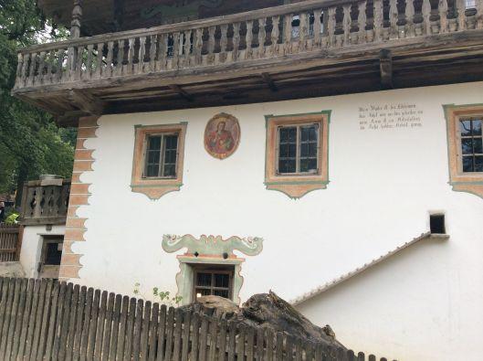 Detail, Tyrol house