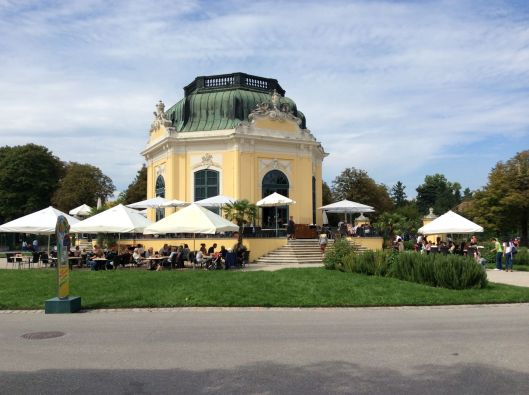 "An example of ""Gesamtkunstwerk"" - a gorgeous Baroque café close to the Monkey House"