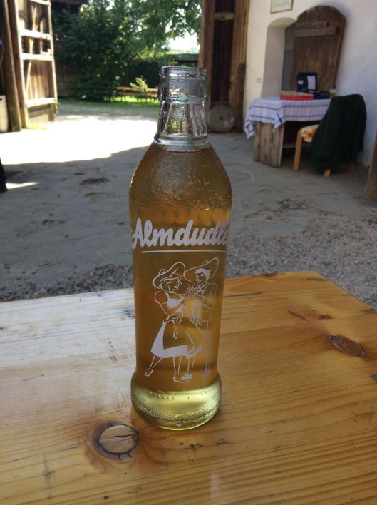 We cash in our tickets for Almdudler - a beloved Austrian soft drink