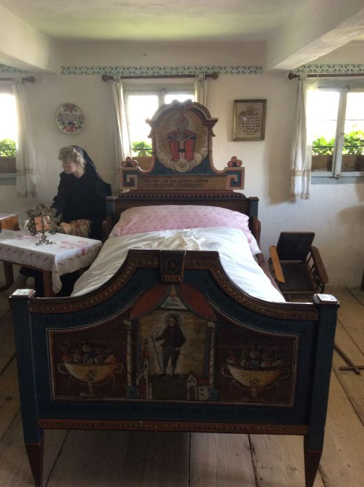 "Bed in ""Upper Austria Village"""