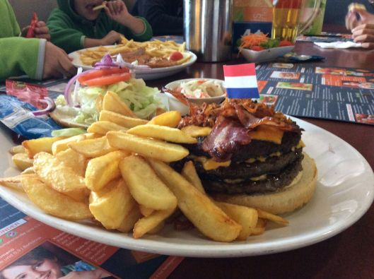 XXL burger, Legoland