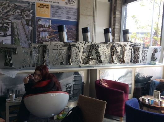 The café is full of art (and students)