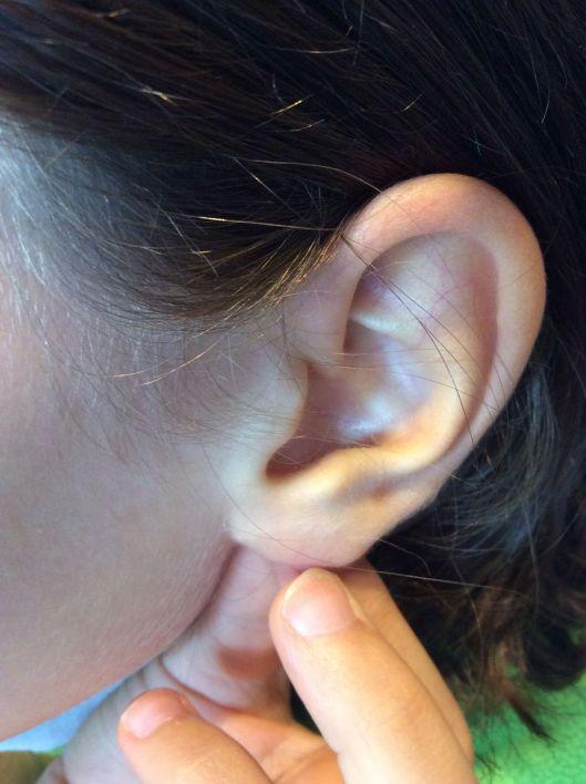 An innocent ear
