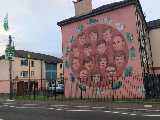 Mural beside Bogside Inn