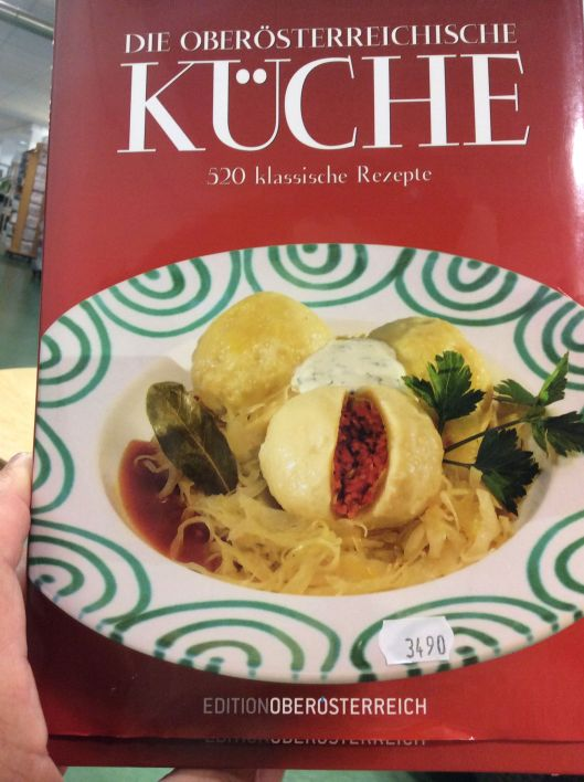 An Austrian cookbook has to have Gmundner Keramik dishes!