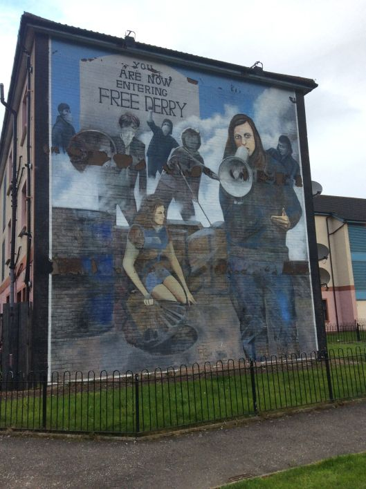 derry free derry mural