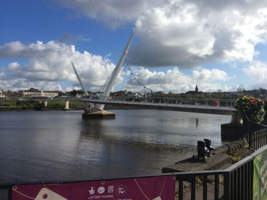 Derry Peace Bridge opened in 2011