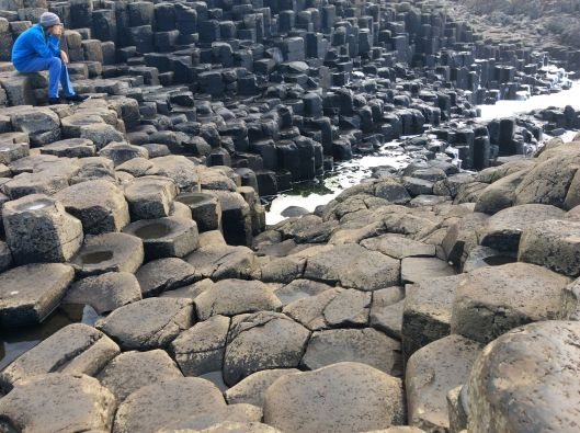 Onlyboy loved the Giant's Causeway
