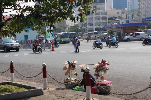 Street scene, Ho Chi Min City (Vietnam)