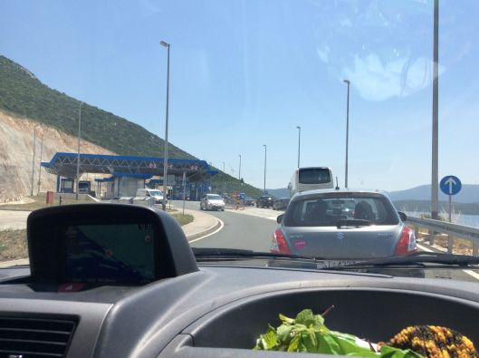 More driving…  We approach the Bosnian border