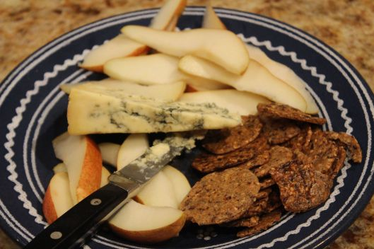 Stilton and pear - a marriage made in heaven (just like Fahbio and SWMBO)