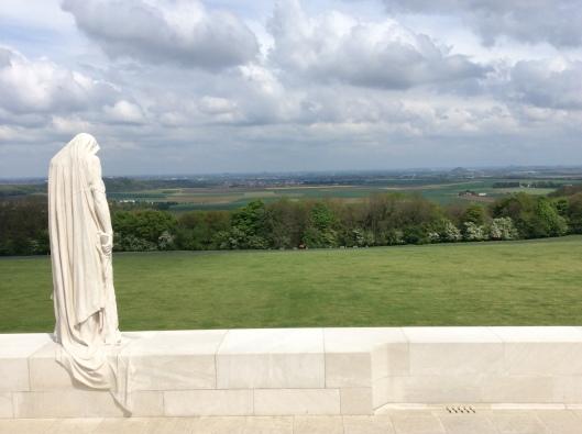 Vimy Memorial near Arras, France
