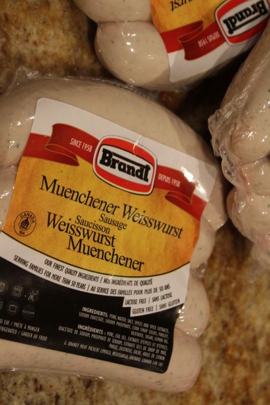 Munich-style Weißwurst