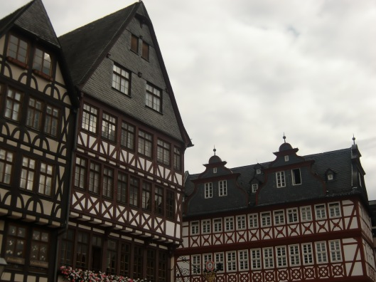 Buildings in old square, Frankfurt (Germany)