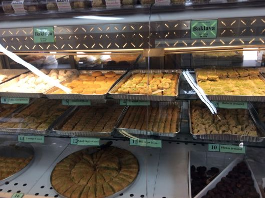 We bought some baklava...