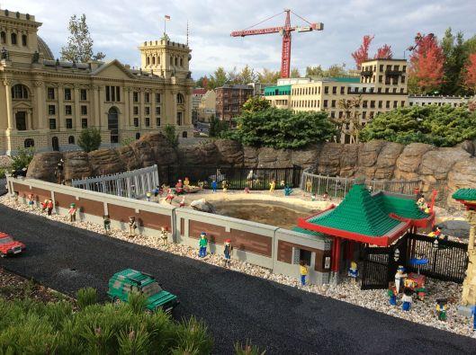 Berlin Zoo in Legoland Ulm, weird no?