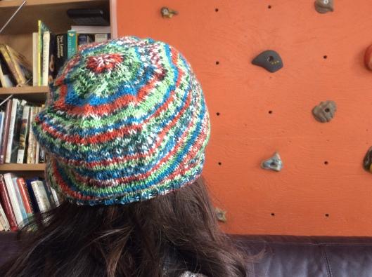 A thin wool beanie - the perfect travel companion