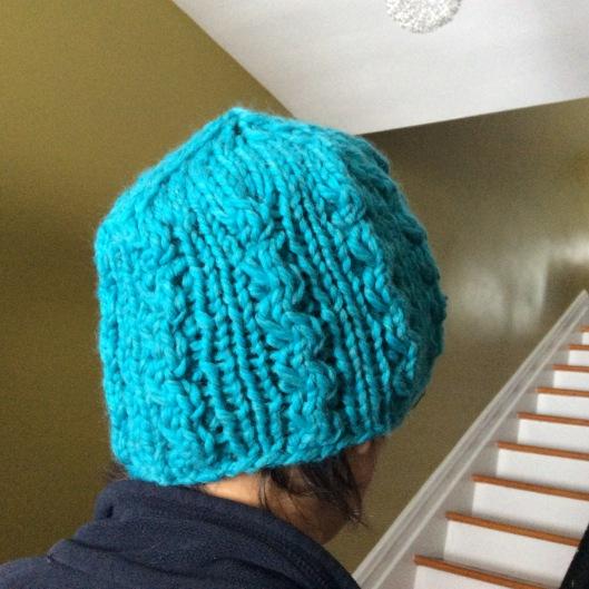 Yachtlady hat as modelled by Onlyboy