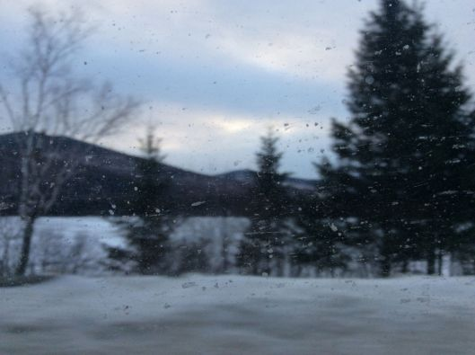 Highway 27, seen out the van window...
