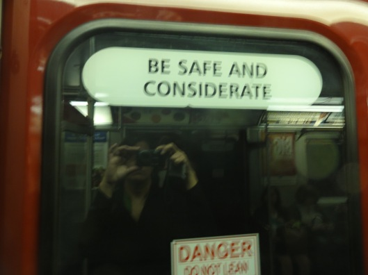 Good advice from the TTC (Toronto Transit Commission).