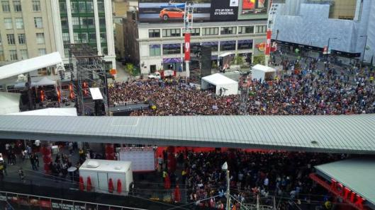 Youtube Fanfest May 2, 2015 (Toronto).  Image from pbs.twimg.com