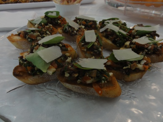 Ramp bruschetta - a delicious offering at Rampfest 2015