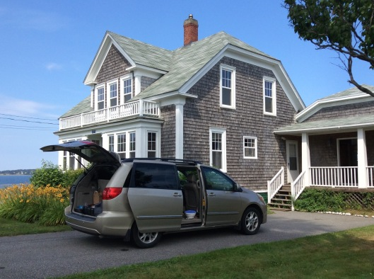 Our cottage (Castalia, Grand Manan)