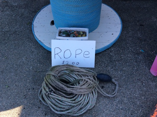 For those who don't like dulse, Roland has old gross smelly rope for you for $2.