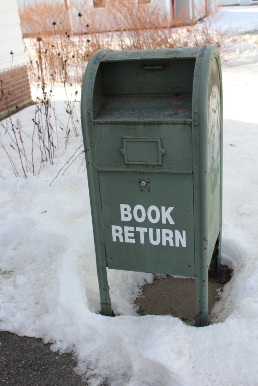2016 kingfield library bookreturn